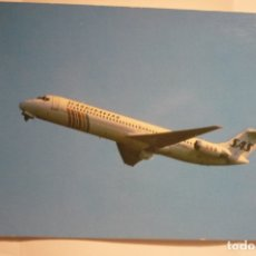 Postales: POSTAL AVIACION SAS AIRLINE - THE DC 9 JETLINER--CIRCULADA. Lote 174309882