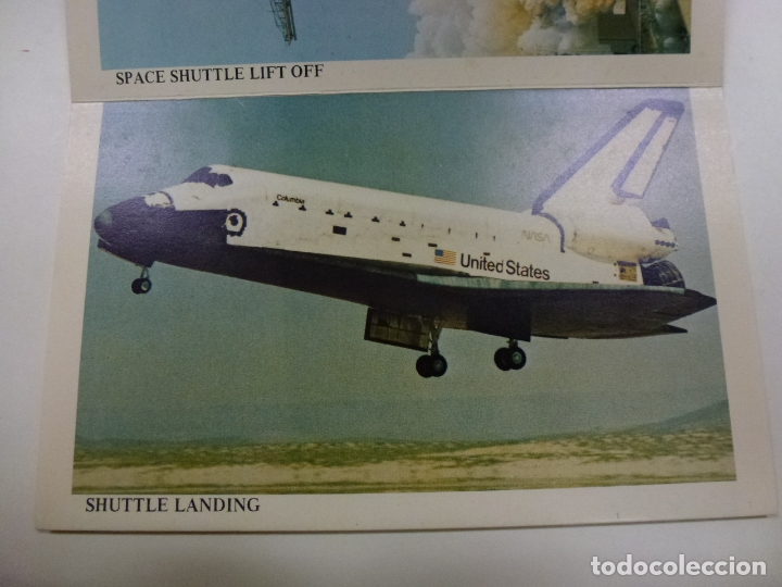 Postales: BLOC DE 7 POSTALES DOBLES. WELCOME KENNEDY SPACE CENTER FLORIDA. - Foto 3 - 174388388