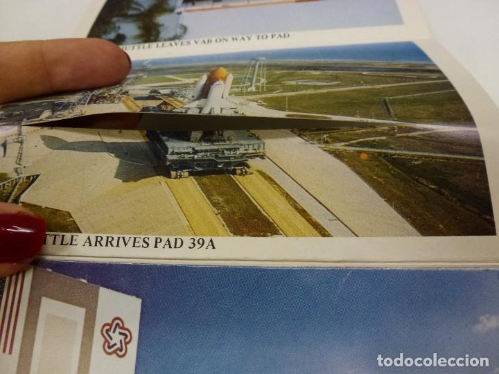 Postales: BLOC DE 7 POSTALES DOBLES. WELCOME KENNEDY SPACE CENTER FLORIDA. - Foto 2 - 174388388