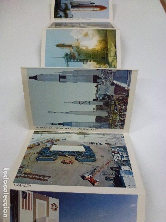 Postales: BLOC DE 7 POSTALES DOBLES. WELCOME KENNEDY SPACE CENTER FLORIDA. - Foto 4 - 174388388