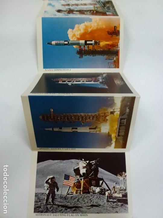 Postales: BLOC DE 7 POSTALES DOBLES. WELCOME KENNEDY SPACE CENTER FLORIDA. - Foto 5 - 174388388