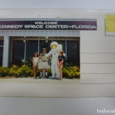 Postales: BLOC DE 7 POSTALES DOBLES. WELCOME KENNEDY SPACE CENTER FLORIDA.. Lote 174388388