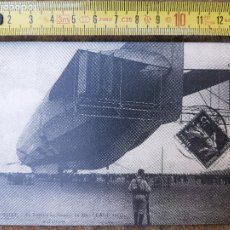 Postales: REPRODUCCIÓN DE POSTAL FRANCESA DE 1913-3-5 LUNEVILLE , ZEPPELIN AU CHAMP DE MARS. Lote 176308318