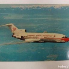 Postales: POSTAL. BOEING 727. PORTUGUESE AIRWAYS. NO ESCRITA. . Lote 176900658