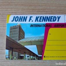 Postales: ANTIGUO ALBUN DE POSTALES DE EL AEROPUERTO JOHN F.KENNEDY DE NUEVA YORK. Lote 177816765