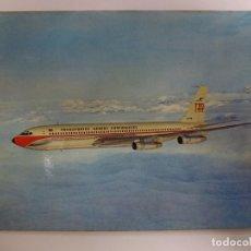 Postales: POSTAL. BOEING 707-3208. PORTUGUESE AIRWAYS. ED. GRIS. NO ESCRITA. . Lote 178185853