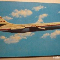 Postales: POSTAL IBERIA - AVION CARAVELL VIR . Lote 179076205