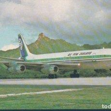 Postales: POSTAL DE AVIACIÓN, AVIONES, AEROPUERTOS, AERONAÚTICA. AVIÓN DE AIR NEW ZEALAND. NUEVA ZELANDA. Lote 180159021