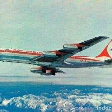 Postales: BOEING 7070 DE AIR INDIA,EDITADA POR LA LIKNEA AEREA . Lote 180870820