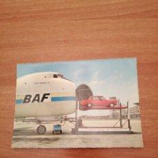 Postales: POSTAL LUCHTHAVEN AEROPORT OOSTENDE MIDDELKERKE CIRCULADA. Lote 182138080