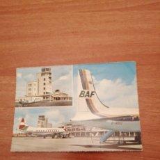 Postales: POSTAL LUCHTHAVEN AEROPORT OOSTENDE MIDDELKERKE CIRCULADA. Lote 182138456