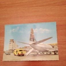 Postales: POSTAL LUCHTHAVEN AEROPORT OOSTENDE MIDDELKERKE CIRCULADA. Lote 182138503