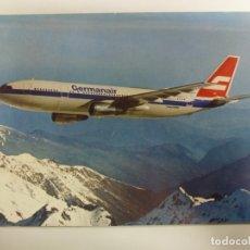 Cartes Postales: POSTAL. AVIÓN. AIRBUS A 300 B 4. GERMANAIR. NO ESCRITA. . Lote 182170753
