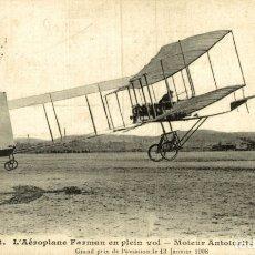 Postales: L'AEROPLAN FARMAN. AVIACIÓN. Lote 182552488