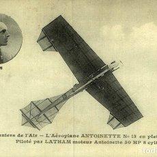 Postales: M.LATHAM. AVIACIÓN. Lote 182828931