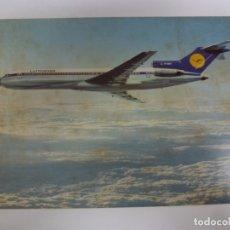 Cartes Postales: POSTAL. AVIÓN. LUFTHANSA. BOEING 727 EUROPA JET. NO ESCRITA. . Lote 182968403