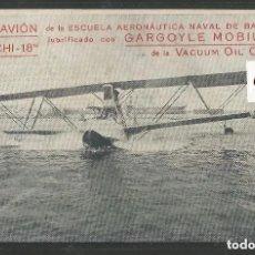 Postales: POSTAL ANTIGUA - PUBLICIDAD HIDROAVION MACCHI 18 - VER FOTOS -(64.065). Lote 182976717