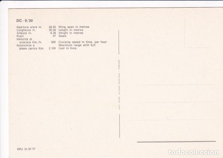 Postales: Lote de 10 postales de aviones (todas diferentes) - Sin circular - Foto 9 - 182990623