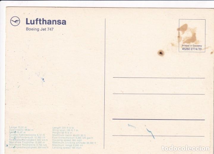Postales: Lote de 10 postales de aviones (todas diferentes) - Sin circular - Foto 11 - 182990623