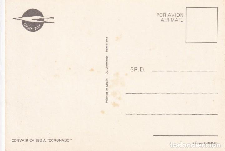 Postales: Lote de 10 postales de aviones (todas diferentes) - Sin circular - Foto 17 - 182990623