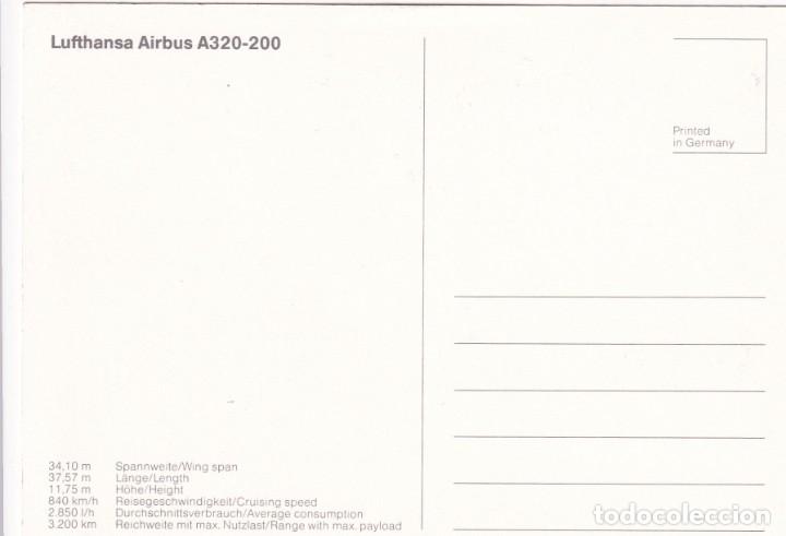 Postales: Lote de 10 postales de aviones (todas diferentes) - Sin circular - Foto 21 - 182990623
