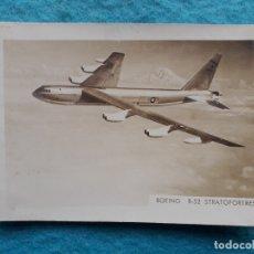 Postales: FOTOGRAFÍA ANTIGUA DE BOEING B-52 STRATOFORTRESS.. Lote 183000621