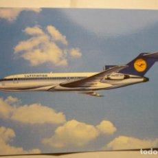 Postales: POSTAL LUFTHANSA - BOEING 727 EUROPA JET. Lote 183481016