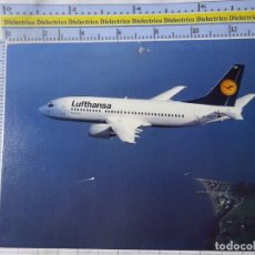 Postais: POSTAL DE AVIONES AEROLINEAS. LUFTHANSA ALEMANIA BOEING 737. 1264. Lote 183519535