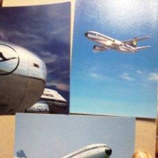 Postales: LUFTHANSA AIRBUS A310. Lote 183757045