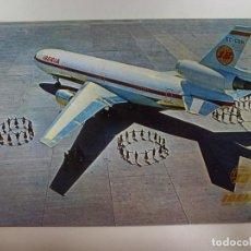 Postales: POSTAL. AVIÓN. DC-10/30 COSTA BRAVA. IBERIA. NO ESCRITA. . Lote 183772268