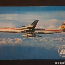 Postales: IBERIA JET DOUGLAS SUPER DC-8/63 POSTAL. Lote 183811333