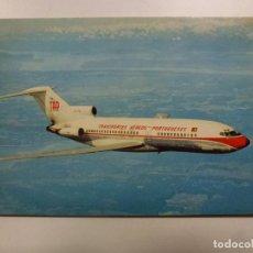 Postales: POSTAL. AVIÓN. BOEING 727. PORTUGUESE AIRWAYS. NO ESCRITA. . Lote 183813716