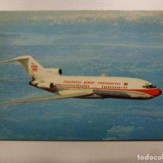 Postales: POSTAL. AVIÓN. BOEING 727. PORTUGUESE AIRWAYS. NO ESCRITA. . Lote 183813742