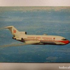 Postales: POSTAL. AVIÓN. BOEING 727. PORTUGUESE AIRWAYS. NO ESCRITA. . Lote 183813743