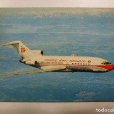Postales: POSTAL. AVIÓN. BOEING 727. PORTUGUESE AIRWAYS. NO ESCRITA. . Lote 183813786