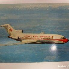 Postales: POSTAL. AVIÓN. BOEING 727. PORTUGUESE AIRWAYS. NO ESCRITA. . Lote 183912855
