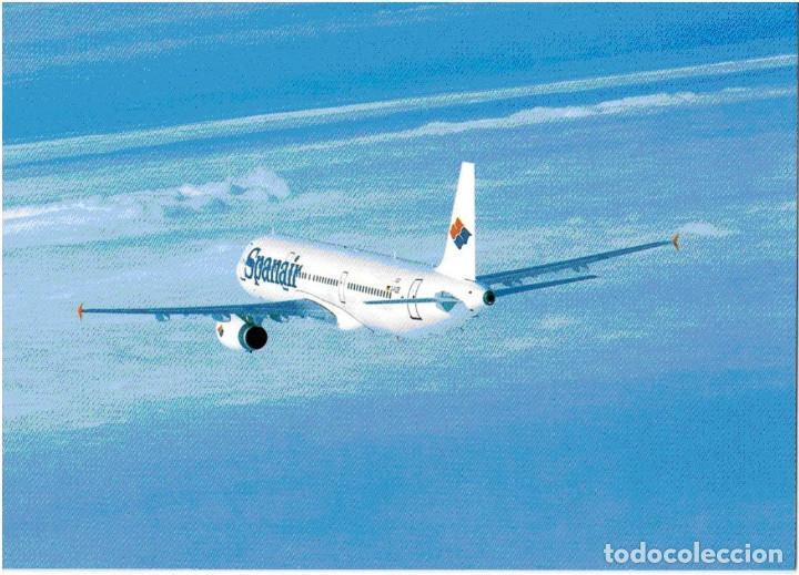POSTAL SPANAIR (Postales - Postales Temáticas - Aeroplanos, Zeppelines y Globos)