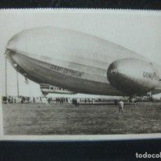Postales: POSTAL GRAF ZEPPELIN AM ANKERMAST IN LOS ANGELES.. Lote 187308157