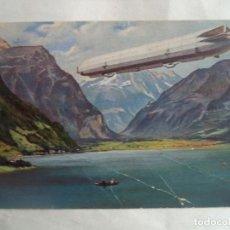 Postales: GRAF ZEPPELIN CIRCULADA CON SELLO. Lote 189927466