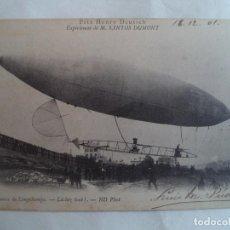 Postales: GRAF ZEPPELIN CIRCULADA CON SELLO. Lote 189927711