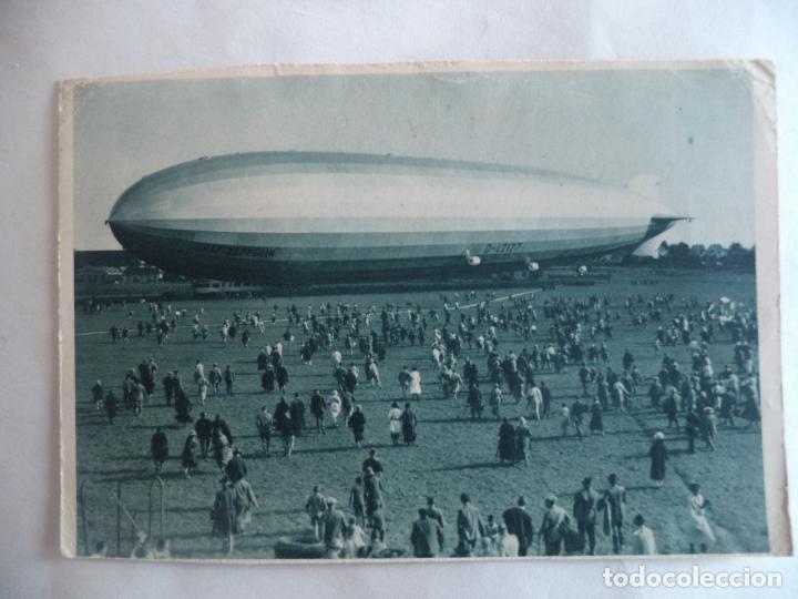 GRAF ZEPPELIN SPERMANN IN STUTTGART (Postales - Postales Temáticas - Aeroplanos, Zeppelines y Globos)