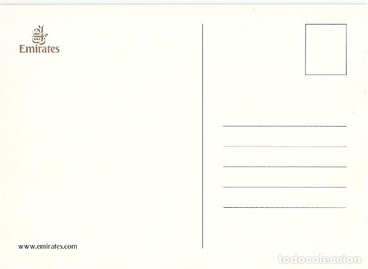 Postales: POSTAL THE EMIRATES AIRBUS A330-200 - Foto 2 - 189939130
