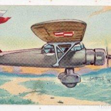 Postales: P.Z.L. MEWA. MONOPLANO DE RECONOCIMIENTO. POLONIA. PUBLICIDAD DE CHOCOLATE LA ESTRELLA.. Lote 190790482