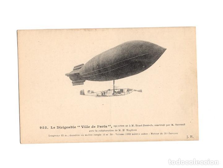 Postales: HISTORIA DE LA AVIACIÓN. ARENÁUTICA.AÉROPLANO. ZEPPELIN .DIRIGIBLE. GLOBO. 44 POSTALES. SIN CIRCULAR - Foto 3 - 191506235