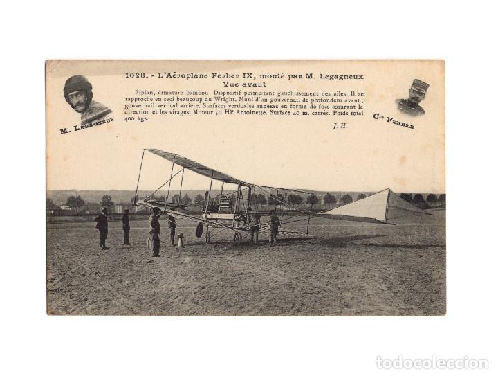 Postales: HISTORIA DE LA AVIACIÓN. ARENÁUTICA.AÉROPLANO. ZEPPELIN .DIRIGIBLE. GLOBO. 44 POSTALES. SIN CIRCULAR - Foto 4 - 191506235