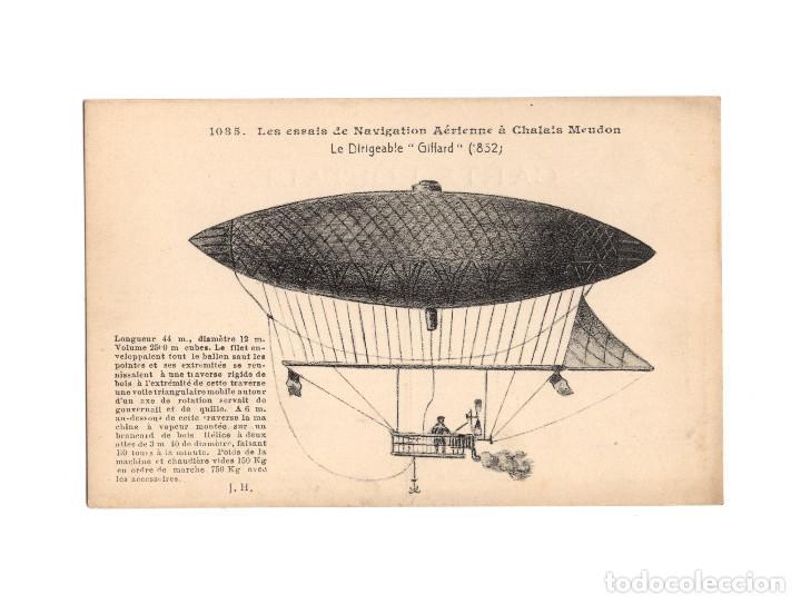 Postales: HISTORIA DE LA AVIACIÓN. ARENÁUTICA.AÉROPLANO. ZEPPELIN .DIRIGIBLE. GLOBO. 44 POSTALES. SIN CIRCULAR - Foto 6 - 191506235