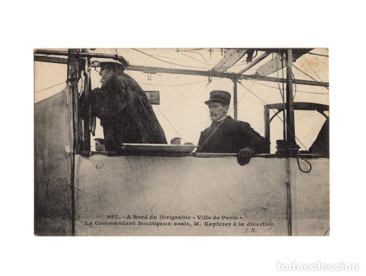 Postales: HISTORIA DE LA AVIACIÓN. ARENÁUTICA.AÉROPLANO. ZEPPELIN .DIRIGIBLE. GLOBO. 44 POSTALES. SIN CIRCULAR - Foto 7 - 191506235