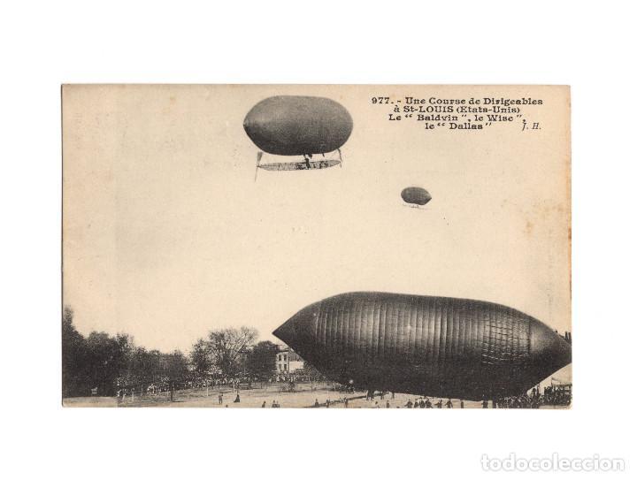 Postales: HISTORIA DE LA AVIACIÓN. ARENÁUTICA.AÉROPLANO. ZEPPELIN .DIRIGIBLE. GLOBO. 44 POSTALES. SIN CIRCULAR - Foto 11 - 191506235