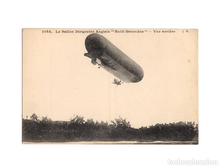 Postales: HISTORIA DE LA AVIACIÓN. ARENÁUTICA.AÉROPLANO. ZEPPELIN .DIRIGIBLE. GLOBO. 44 POSTALES. SIN CIRCULAR - Foto 12 - 191506235