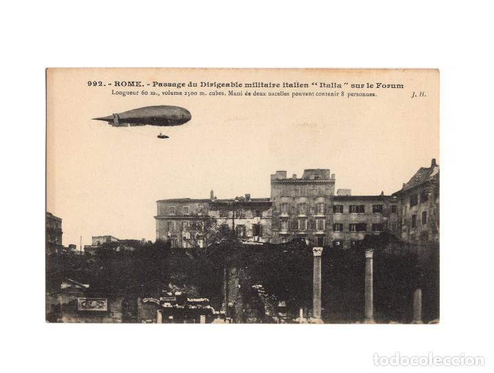 Postales: HISTORIA DE LA AVIACIÓN. ARENÁUTICA.AÉROPLANO. ZEPPELIN .DIRIGIBLE. GLOBO. 44 POSTALES. SIN CIRCULAR - Foto 13 - 191506235
